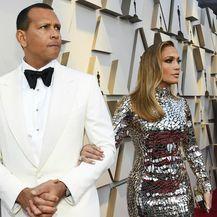 Alex Rodriguez i Jennifer Lopez na 91. dodjeli Oscara