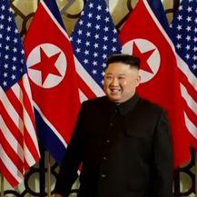 Sastali se Trump i Jong Un (Screenshot: Reuters)
