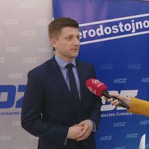 Ministar financija Zdravko Marić i Barbara Štrbac (Foto: Dnevnik.hr)