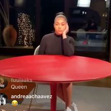 Jordyn Woods i Red Table Talk (Foto: Instagram)