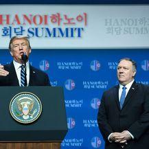 Donald Trump i Mike Pompeo (Foto: AFP)