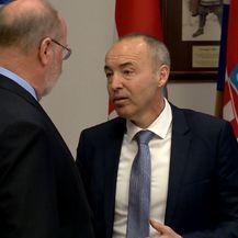 Ministar obrane Damir Krstičević i američki veleposlanik u Hrvatskoj Robert Kohorst (Foto: Dnevnik.hr) - 2