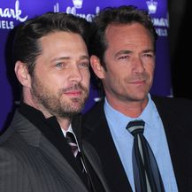 Luke Perry i Jason Priestley (Foto: Getty Images)