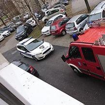 Na terenu vatrogasci i policija