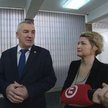 Nikola Milina pred novinarima