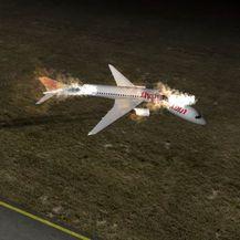 Animacija avionske nesreće u Turskoj - 1