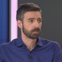 Mladen Kožić u studiju Dnevnika Nove TV