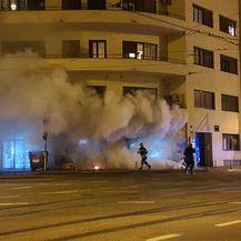 Požar na uglu Šubićeve i Zvonimirove - 2
