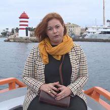 Sanja Jurišić plovi