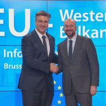 Andrej Plenković na summitu u EU