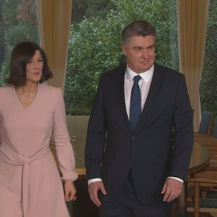 Zoran Milanović sa suprugom