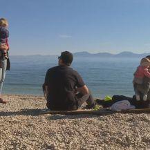 Obitelj na plaži
