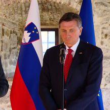 Zoran Milanović i Borut Pahor
