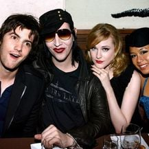 Evan Rachel Wood i Marilyn Manson