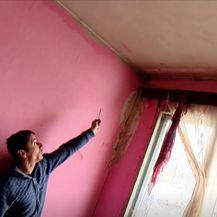 Oštećenja od potresa u kući obitelji Amić - 3