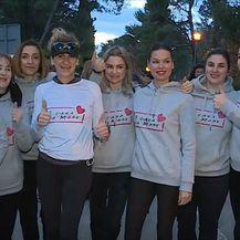 Trkačice u dobrotvornoj trci Zlatna vrpca
