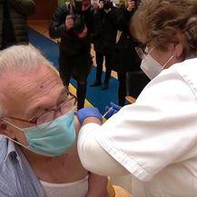 Cijepljenje u sportskoj dvorani u Koprivnici - 3