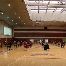 Cijepljenje u sportskoj dvorani u Koprivnici - 4