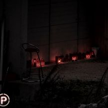 Svijeće u spomen žrtvama ubojstva u Šibeniku