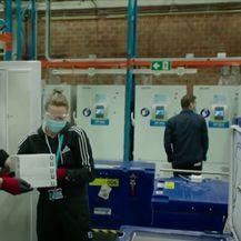 Pakiranje cjepiva protiv koronavirusa