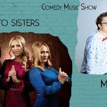 Comedy Music Show Gelato Sisters i Studio Smijeha Ladies