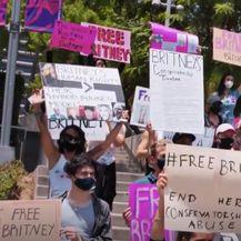 Prosvjednici daju podršku Britney Spears