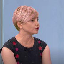Sandra Benčić u Dnevniku Nove TV - 1