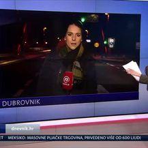 Orkanska bura u Dubrovniku (Video: Vijesti u 17h)