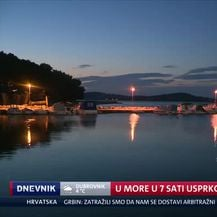 U more u 7 sati usprkos hladnoći (Video: Dnevnik Nove TV)