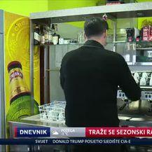 Traže se sezonski radnici (Video: Dnevnik Nove TV)