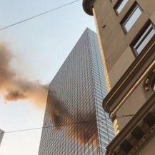 Požar u Trumpovu neboderu (Foto: Twitter)