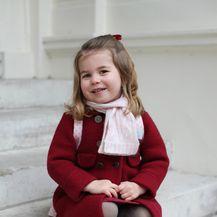 Catherine Middleton fotografirala je Charlotte prije odlaska u vrtić