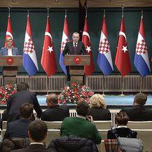 Kolinda Grabar Kitarović i Recep Tayyip Erdoğan (Foto: Dnevnik.hr) - 1