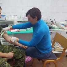 Vojnici se odazvali na akciju upisa u Hrvatski registar dobrovoljnih darivatelja krvotvornih matičnih stanica (Dnevnik.hr)