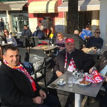 Hrvatski navijači na splitskoj rivi (GOL.hr)