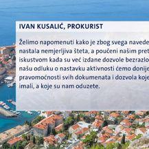 Nova lokacijska dozvola za golf na Srđu (Foto: Dnevnik.hr)