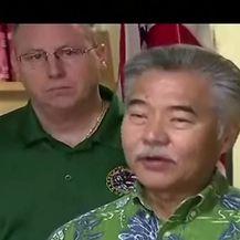 Guverner Havaja ispričao se za lažno poslanu poruku (VIDEO: Reuters)