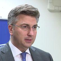 Plenković o potresima u HDZ-u (Video: Dnevnik.hr)