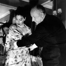 Ava Gardner i Christian Dior 1950. godine
