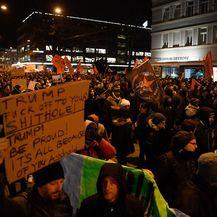 Prosvjedi protiv Trumpa u Švicarskoj (Foto: AFP)