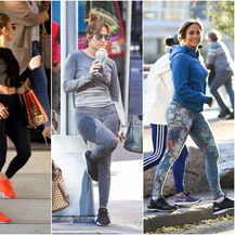 Jennifer obožava nositi tajice u svim prigodama