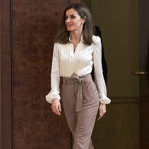 Kraljica Letizia na primanju u kraljevskoj palači