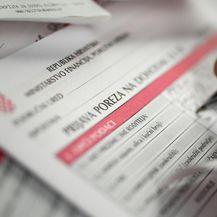 Prijava poreza na dohodak (Foto: Davor Puklavec/PIXSELL)