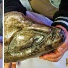 Kod misteriozne pećine u Meksiku otkriveni čudni artefakti i skulpture (Screenshot YouTube)