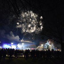 Vatromet u Čakovcu (Foto:Vjeran Žganec Rogulja/Pixsell)