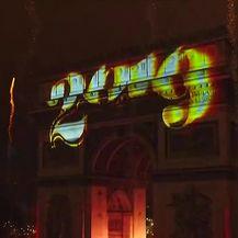 Vatromet u Parizu (Video: APTN)