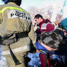 Eksplozija u Rusiji (Foto: AFP)