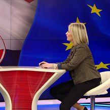 Gošća Dnevnik Nove TV resorna ministrica Gabrijela Žalac (Video: Dnevnik Nove TV)