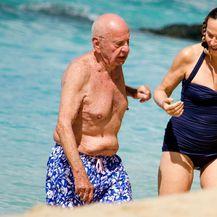 Jerry Hall i Rupert Murdoch (Foto: Profimedia)