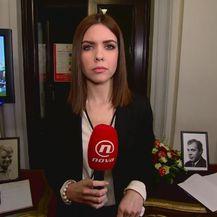 Valentina Baus javlja o knjizi žalosti u HNK (Foto: Dnevnik.hr)